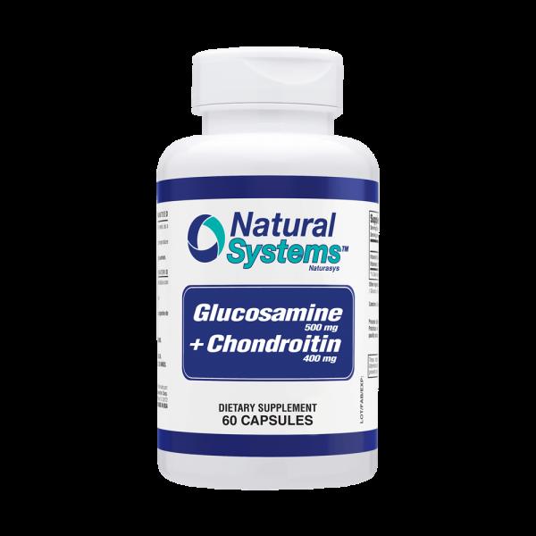 GLUCOSAMINE CHONDROITIN 60 CAPS