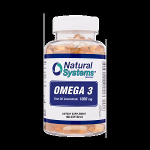 Omega 3 1000 mg 100 Capsulas Blandas
