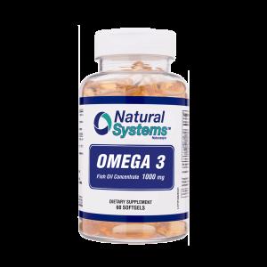 Omega 3 1000 Mg 60 Capsulas blandas